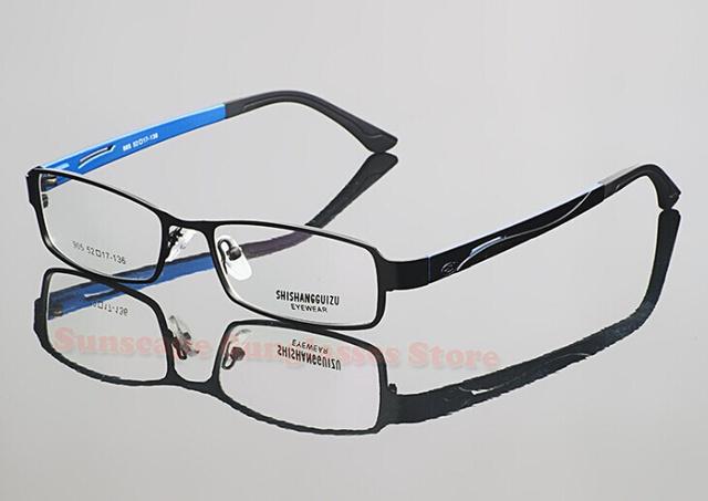 2015 Novos óculos óculos full Frame de metal armações de óculos das mulheres dos homens óculos de Miopia 905