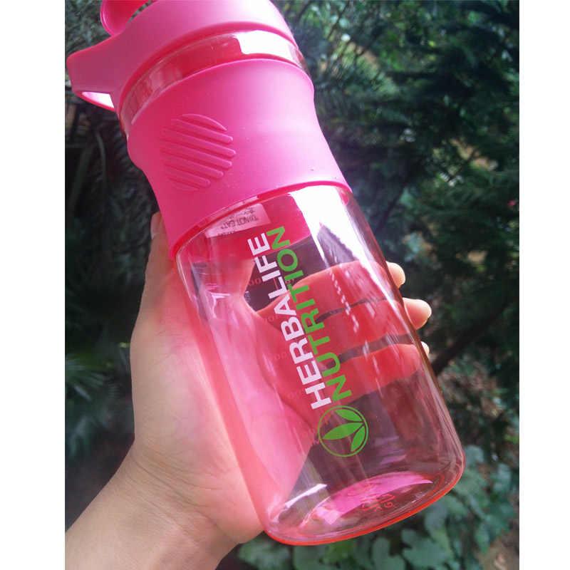 800 مللي أخضر وردي هيرباليفي تغذية درينكوير البروتين شاكر التخييم التنزه الرياضة المحمولة تسلق زجاجة ماء للدراجة