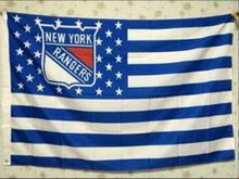 New York Rangers USA star stripe NHL Premium Team Hockey Flag 3X5FT
