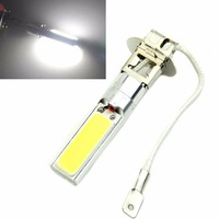 Super Bright White LED H3 COB Light Bulb Fog Running Light Bulb Headlight DC 12V