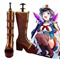 Anime LoveLive! Nozomi Tojo Navy Sailor Boots Cosplay Halloween Party Shoes Custom Made