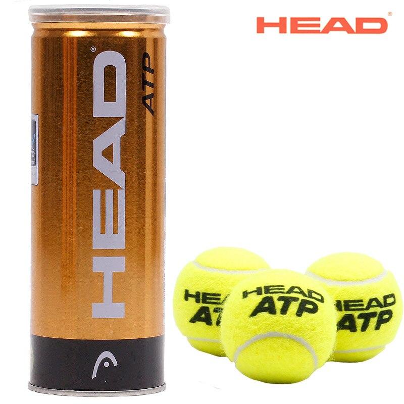 ראש 3 יחידות/כדורי טניס ATP מקורי צינור הרשמי כדור טניס כדור טניס מאסטר Raquete דה של לונדון כדור אימון משחק