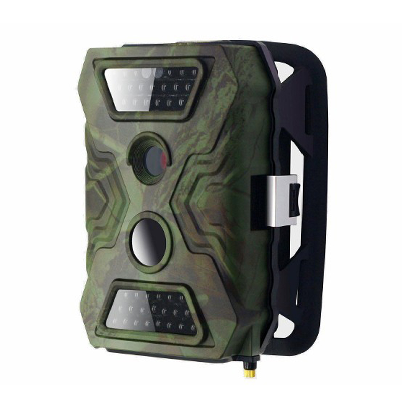 (1set) 12MP PIR Scouting Trail Camera with 20meters Night Vision 8AA Battery Power Supply 720P Video Recording & Waterproof IP54