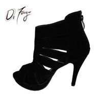 Comparar Venta de zapatos de mujer DRFARGO de 12cm de tacón alto fino, Sandalia de mujer roja y negra, Sandalia de gladiador con plataforma negra, zapato femenino para boda