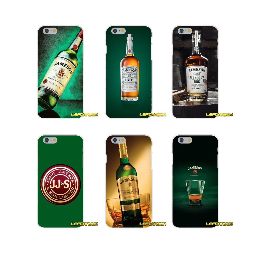 best loved 18efb fc261 US $0.99  bear Jameson Irish Whiskey Accessories Phone Cases Covers For  Samsung Galaxy S3 S4 S5 MINI S6 S7 edge S8 S9 Plus Note 2 3 4 5 8-in ...