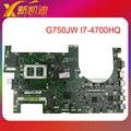 Para asus g750jw motherboard 60nb00m0-mb406 com intel core i7-4700u gtx 765 m