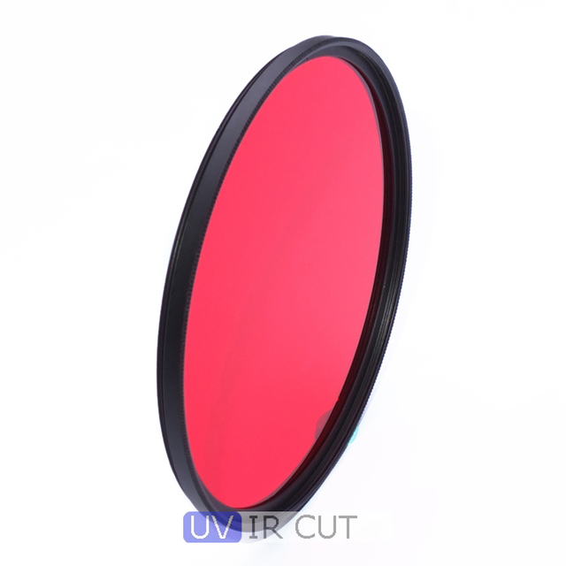 39mm 590nm Infrared IR Optical Grade R59 Filter for Nikon Canon Sony Pentax Fuji Camera Lens