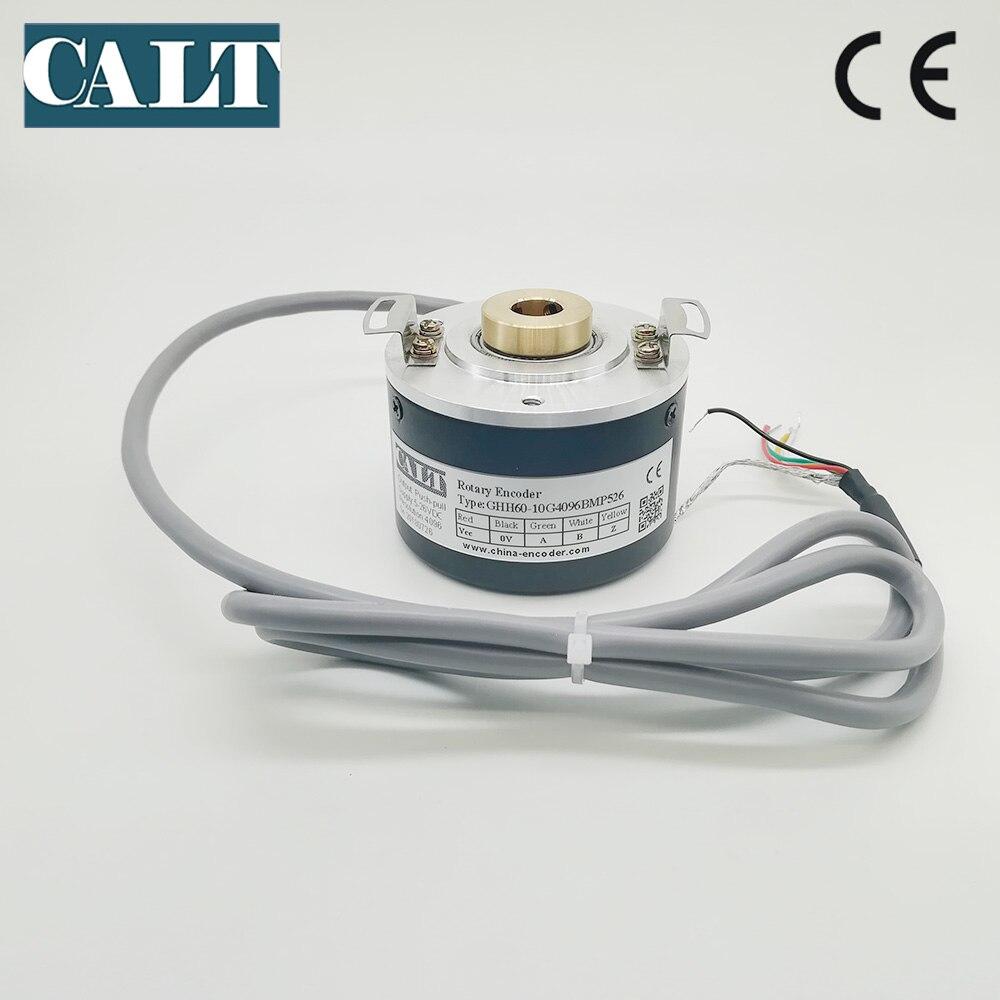 GHH60 10 mm hollow shaft optical rotary encoder GHH60 10G1000BMP526 24V DC pushpull HTL A B