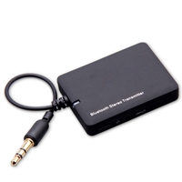 Mini 3 5mm Bluetooth Audio Transmitter A2DP Stereo Dongle Adapter For TV IPod