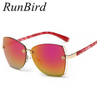 10colors Available 2015 Classic Fashion Star Style UV400 Coating Brand Big Oval Sunglasses Women Sexy Lady
