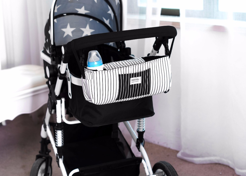 18c9917a6 Baby Stroller Organizer Bag Multi Purpose Storage Bag Mummy Diaper ...