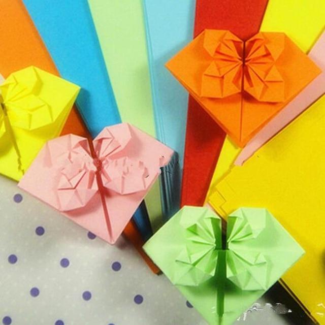 90 개 12x6 CM 수제 Diy 웨딩 파티 장식 인공 사랑 종이 접기 배 종이 공예 다채로운 PA002