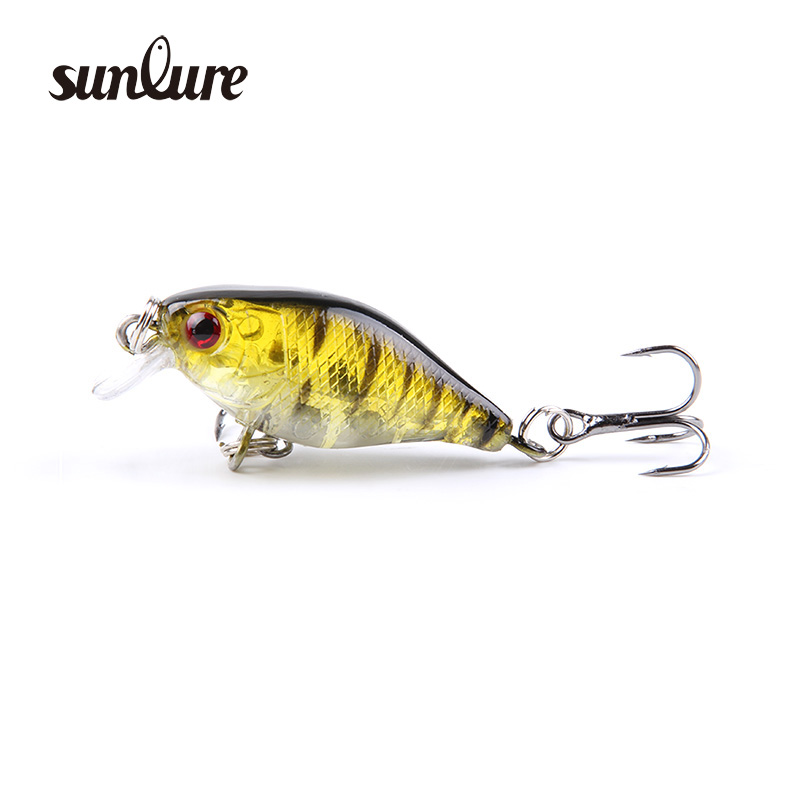 1PCS 4cm 4.2g mini pesca minnow crank bait hard Bait tackle artificial lures swim bait fish japan crankbait wobbler ZB240