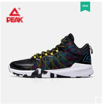 2018 летнее поле практичная обувь мужчины носят Нескользящие дышащие Баскетбол обувь E82051A пик