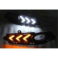 Для Honda Mustang светодиодный на линии бен Чи вариабельности сердечного ритма противотуманные Лампы для мотоциклов выделяя днем Бег моделей лам
