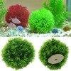 For 11.11 Artificial Aquatic Plastic Plants Aquarium Grass Ball Fish Tank Ornament Decor