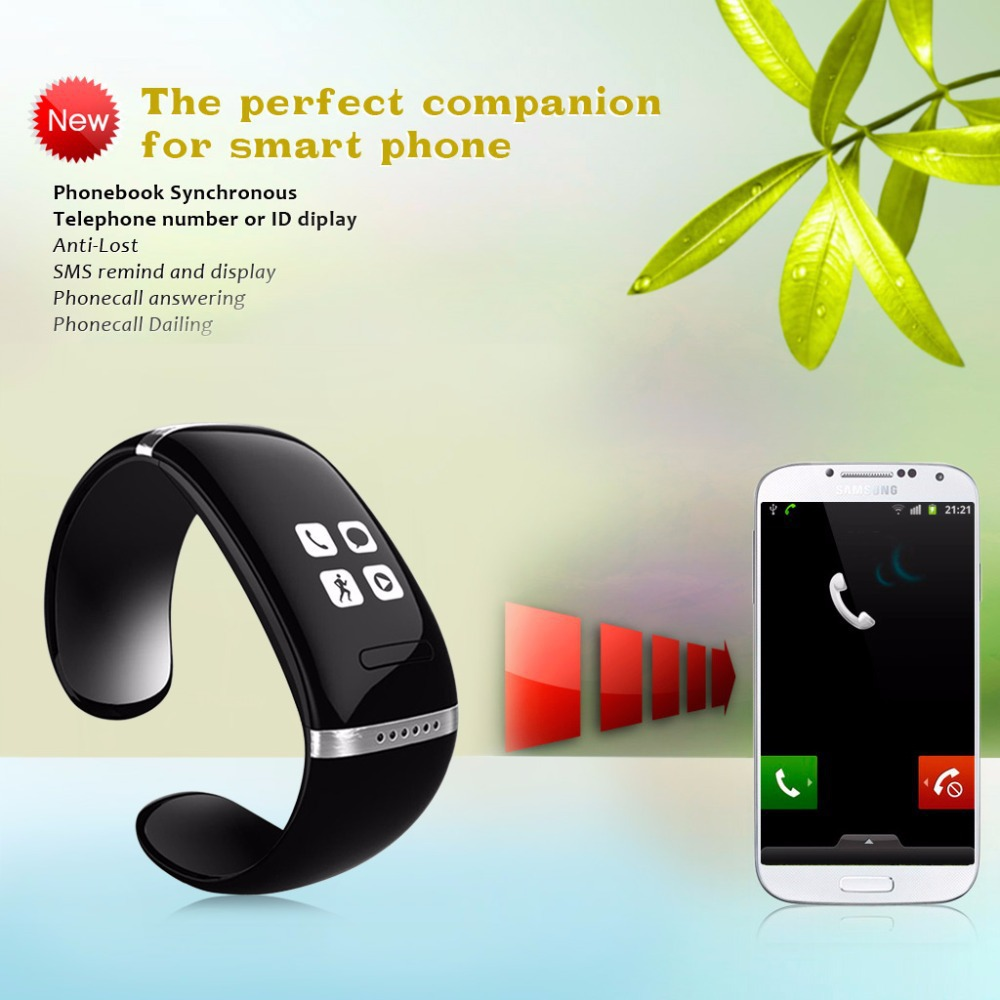 New Smart Bracelet and Sports Pedometer Bluetooth Watch with Call ID Display/Answer/Dial/SMS Sync/ Music Player /Anti-lost wireless service call bell system popular in restaurant ce passed 433 92mhz full equipment watch pager 1 watch 7 call button