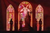 Ghost B C Black Death Dark Satanic Occult Heavy Metal Music Band Poster Fabric Silk Poster