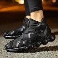 Мужская Обувь 2016 Осень Корейской Версии мужская Обувь Мужчины Открытый Прогулки Хип-Хоп Высокие Ботинки Мода Повседневная Обувь