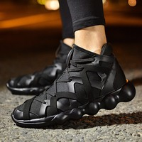 Men Shoes 2016 Autumn Korean Version Of Men S Shoes Men Outdoor Walking Hip Hop High
