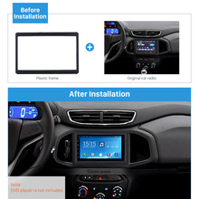 Seicane Car Radio Fascia 2DIN Frame Dash Mount Panel Kit for GM Chevrolet ONIX Cobalt Left Hand Drive LHD OEM Style DVD Player(China)