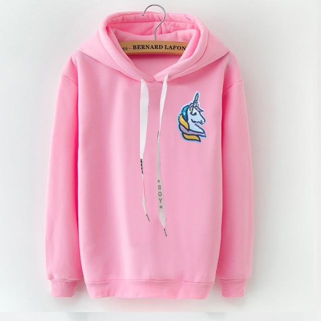b300e33099cbb LANSHANQUE Floral Print Sweatshirt 2018 Long Sleeve Women s Clothes Black  Pink Hoodie Autumn S-XXXL Plus Size Hoodise Pullovers