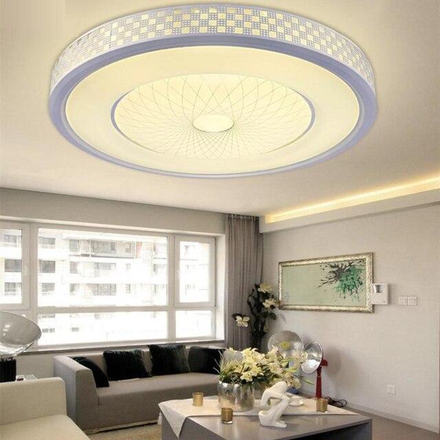 Nowoczesne LED kolorowe 2.4G zdalne sterowanie dotykowe sterowanie sufitowe światło 12W 24W 36W RGB + ciepły biały + zimny biały przyciemnianie światła do salonu