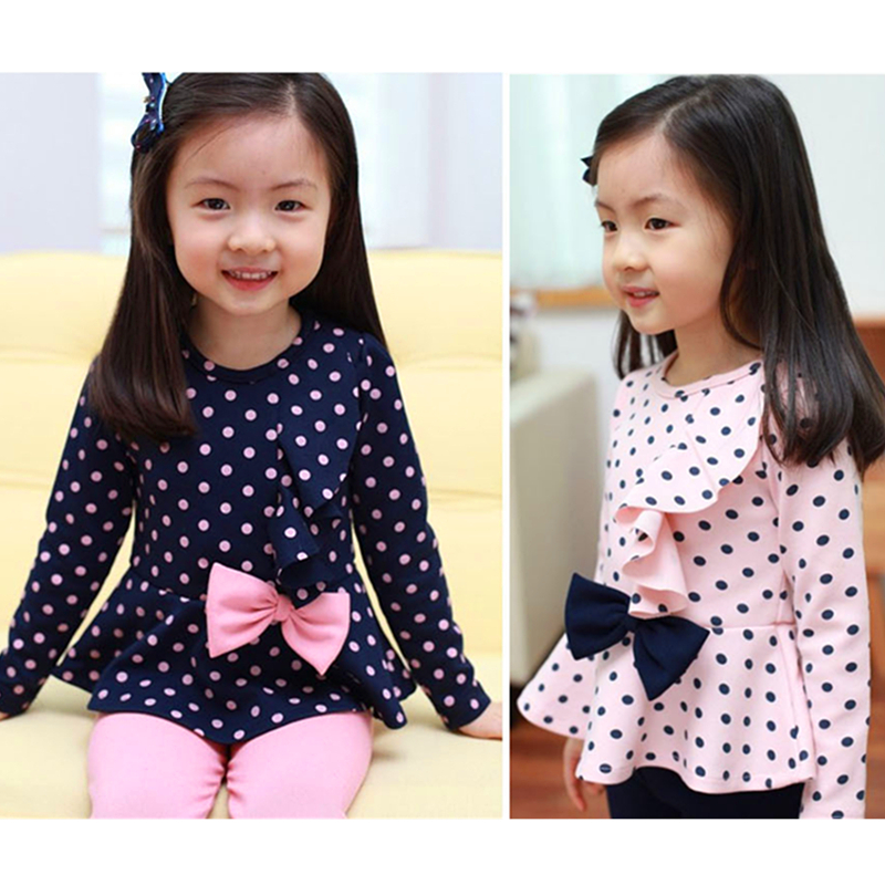 Baby Girl Clothes Spot Baby Girl Clothing Set Cute Kids Clothes Princess Children Clothing Bebe Lolita Clothes+ Pants 2T-6T