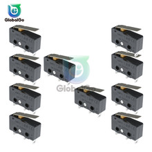 цена на 10pcs/Lot KW11-3Z Micro Switch 3PIN 5A 250V  N/O N/C  Mini Limit Tact Switch on off Switches Home Diy Accessories