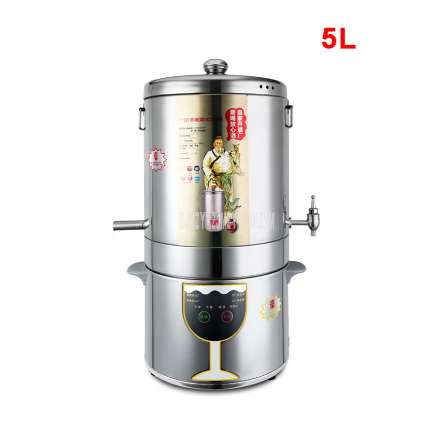 Machine intelligente automatique de brassage de vin de contrôle de 5L
