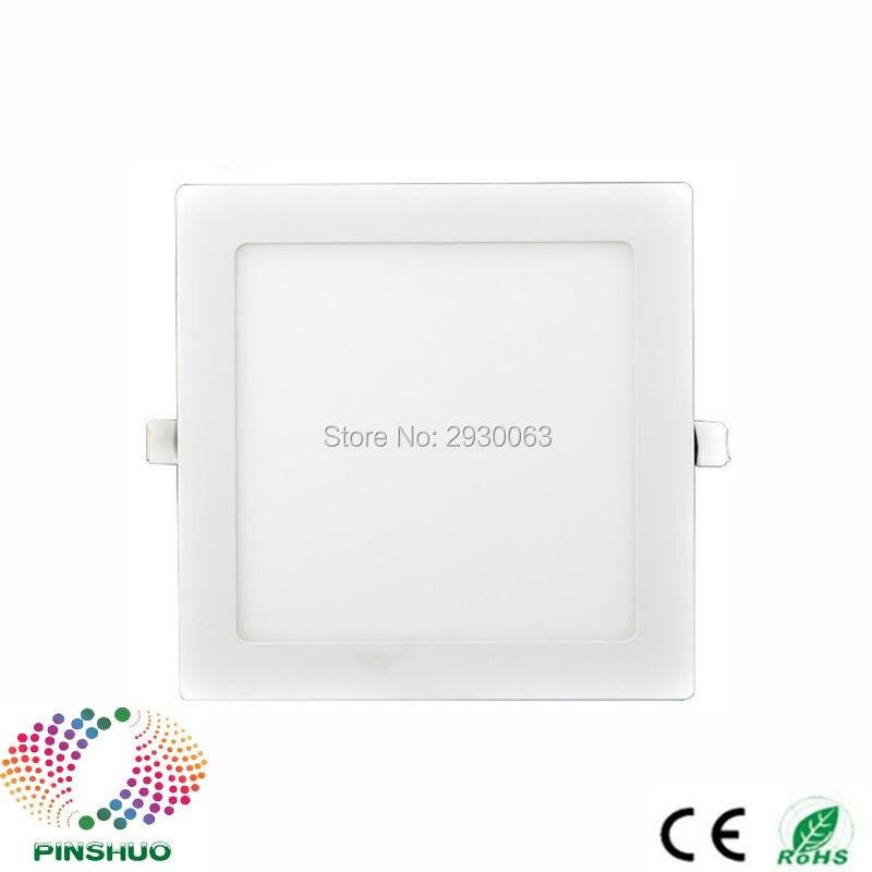 Warranty 3 Years Samsung Chip 3W 4W 6W 9W 12W 15W 24W 18W LED Downlight LED Panel Light Ceiling Square Down Lighting