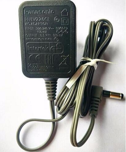 Оригинал для Panasonic беспроводной телефон PNLV226 PNLV226CE 5.5 В 500mA 4.8 ЕС Дюбеля AC Адаптер Питания Зарядное Устройство