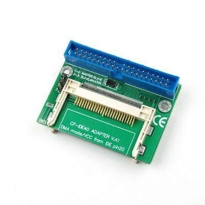 Free Shipping Hot DUAL CF Compact Flash to 40 Pin IDE Adapter Wholesale E02040014