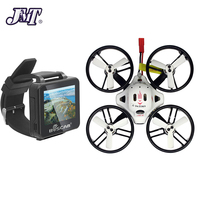 JMT ET125 PNP Brushless FPV RC Drone Quadcopter Mini Aircraft with XM Receiver with FPV 2inch 960*240 HD Watch
