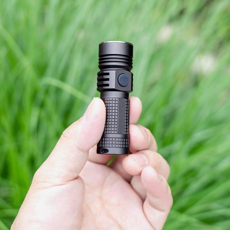 AUF DER STRAßE M3 Pro Typ-C USB Lade EDC taschenlampe mini compact taschenlampe CREE XPL LED 1020lm Outdoor wandern kleine