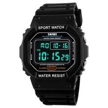 Hot Skmei relojes hombres LED Digital Classic Sport reloj de buceo 50 M militar relojes moda exterior pulsera Relogio Masculino
