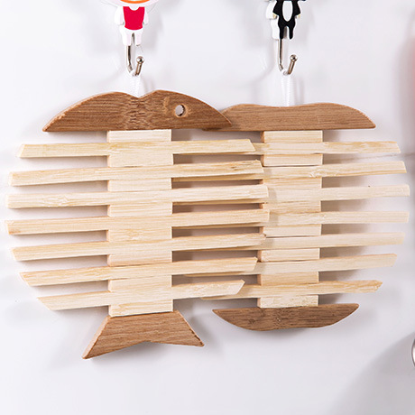 Creative Wooden Pot Holder Heat Insulation Coasters Table Placemat Mat