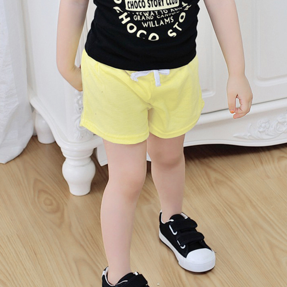 Fashion Summer Children Cotton Shorts Boys And Girl Clothes Baby Fashion Pants