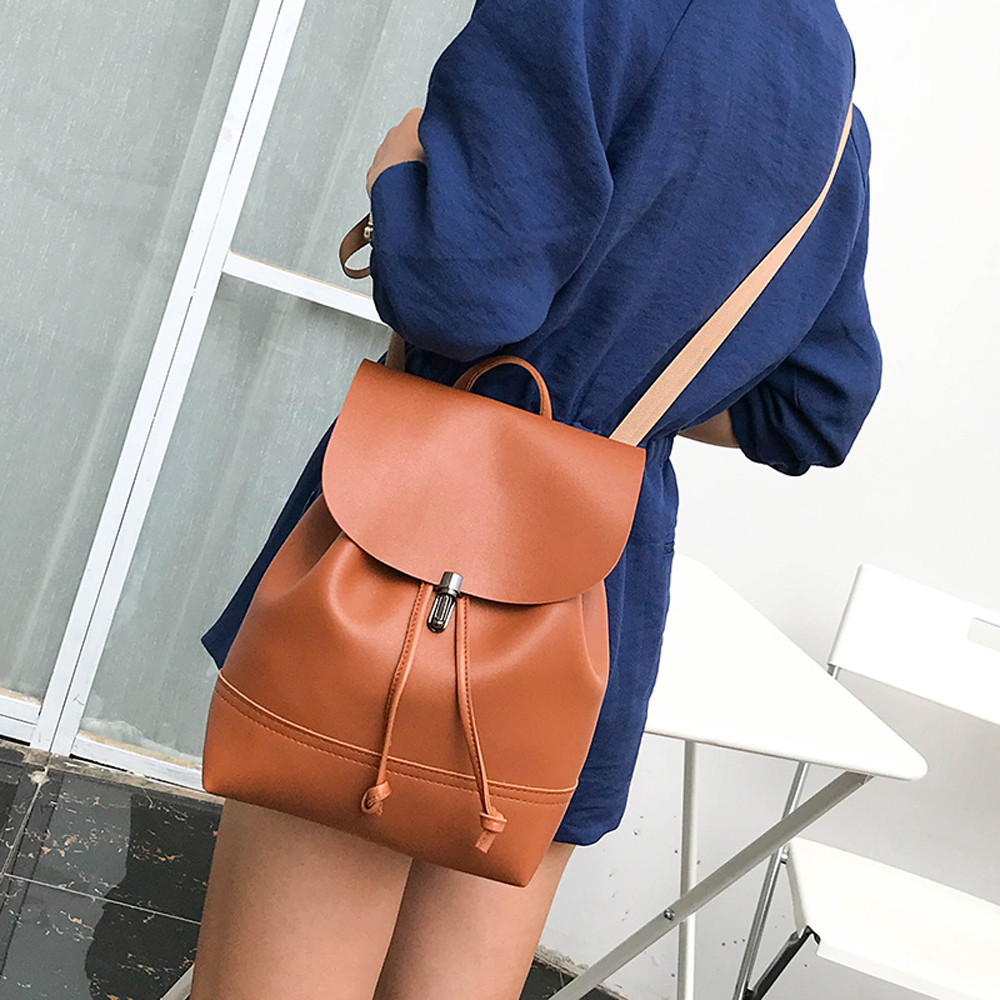 0b79898478 New Designer Fashion Women Backpack Mini Soft Touch Multi-Function Small  Backpack Female Ladies Shoulder Bag Girl Purse