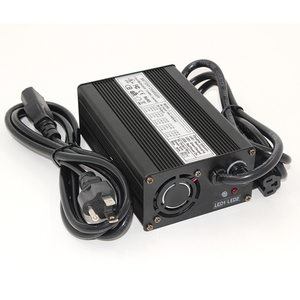 Image 2 - Cargador de batería Lifepo4, 43,8 V, 4A, 12S, 36V, 38,4 V, salida de CC, 43,8 V, con ventilador de refrigeración, envío gratis