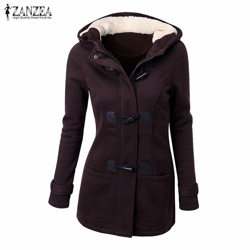 ZANZEA Women 2017 Winter Thick Fleece Hoodiess