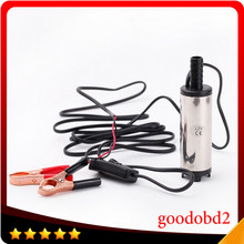 DC 12V Mini Fuel Water Oil Diesel Fuel Pump Car Camping Fishing Submersible Transfer Pump Submersible Pumps With Switch