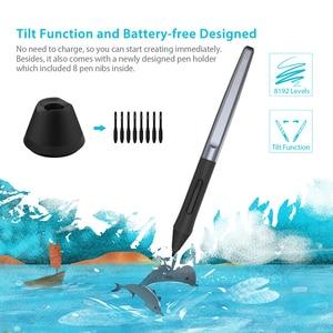 Image 2 - Huion H610プロV2デジタルグラフィックタブレットのアーティストのデザイン描画タブレットチルト機能バッテリーフリーペン錠勝利とmac