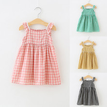 Toddler Kids Baby Girls Princess Casual Dress Clothes Ruffle