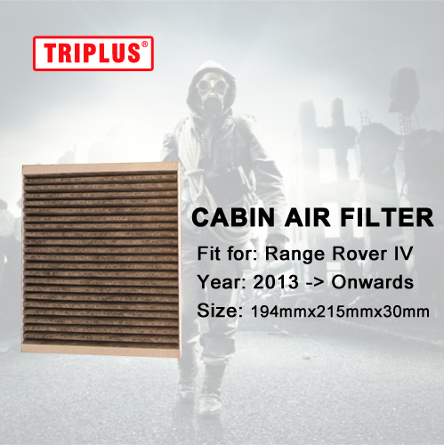 Cabin Air Filter for Range Rover Sport II (2013 Onwards) MK2 1pc  Activated High Carbon Pollen Air Filters|filter air|filter ir|filter cabin - title=