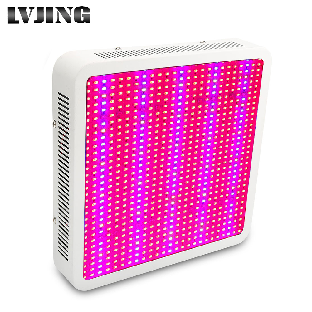 Full Spectrum 800W LED Grow Light Red+Blue+UV+IR AC85~265V Led Plant Lamps Best For Hydroponics Vegetables and Flowering Plants 300 watt led grow light red blue good for medicinal plants growth and flowering