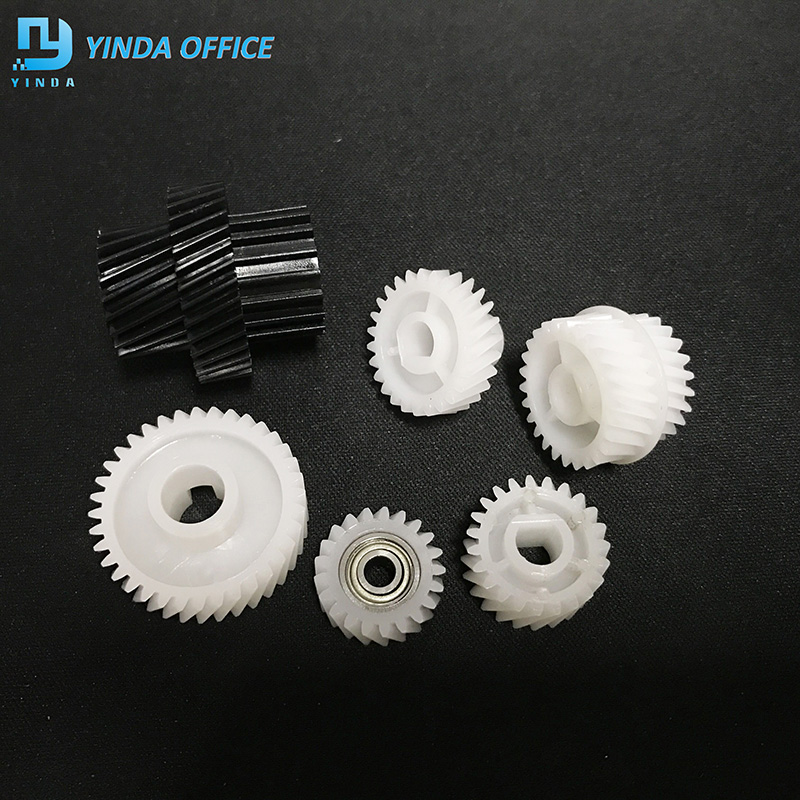 <font><b>Bizhub</b></font> 750 develop gear for Konica Minolta <font><b>Bizhub</b></font> <font><b>600</b></font> bh600 601 750 751 developing gear 6PCS/SET image