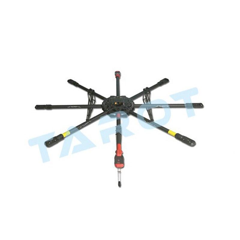 Cadre Octacopter de Drone de fibre de carbone pure de 1160mm 8 axes avec le train d'atterrissage spécifique pour l'épopée rouge 5DII C300 FS100 FS700 etc.