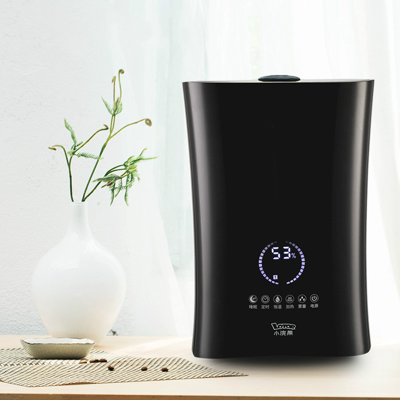 Intelligent Humidifier Air Aromatherapy Machine Sprayer Ultrasonic Spray Household Small Mute High Capacity Touch Screen Control lovely usb humidifier whale floating mini spray touch switch segmented time small and portable mute spray can be put in the cup