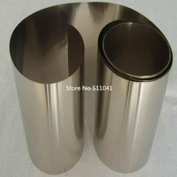 5kg ASTM B265 gr1Gr1 Gr.1 titanium foil mirror diaphragm strip for Boiler wind 0.6mm*450mm 99 99% purity mirror titanium foil ti titanium metal strip 0 03mm thickness 130mm width 4000mm l